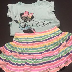 Girls Minnie Mouse Outfit